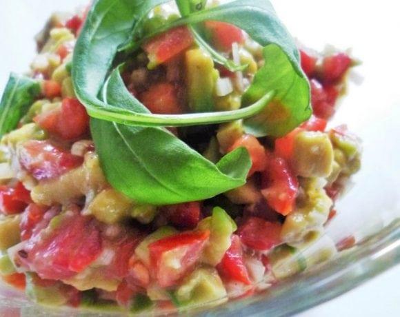 Guacamole sin cilantro