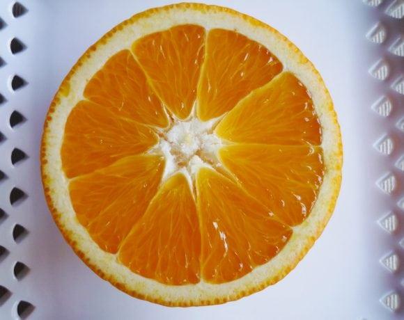Naranja, fruta cítrica