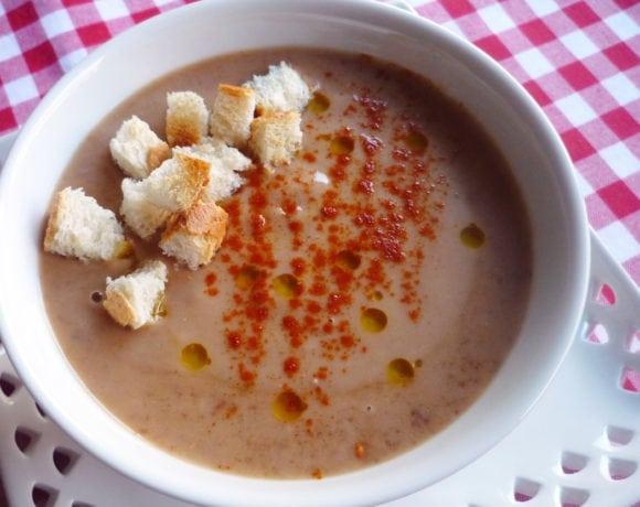 crema de lentejas y hortalizas
