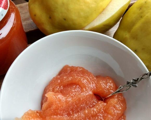 mermelada de membrillo con aroma de naranja