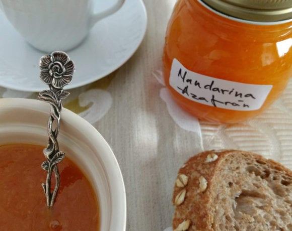 mermelada de mandarina y azafrán