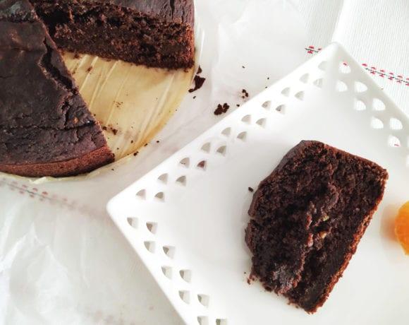 bizcocho de aguacate y cacao